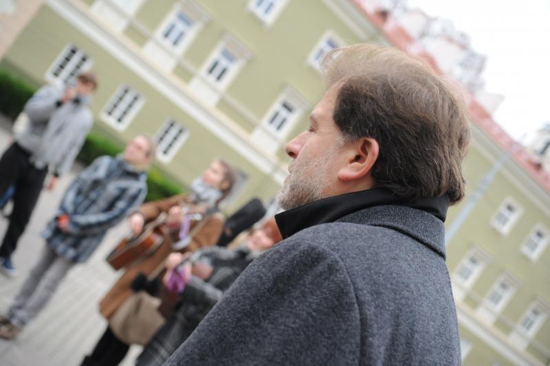 Vilniuje paminėtas Garliavos įvykių pusmetis