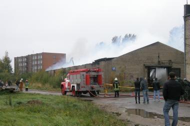 Klaipėdoje griaudėjo sprogimai