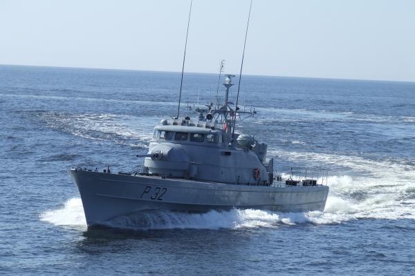Baltijos jūroje baigėsi Patrulinių laivų diviziono mokymai