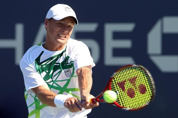 ATP reitinge Ričardas Berankis prarado tris pozicijas
