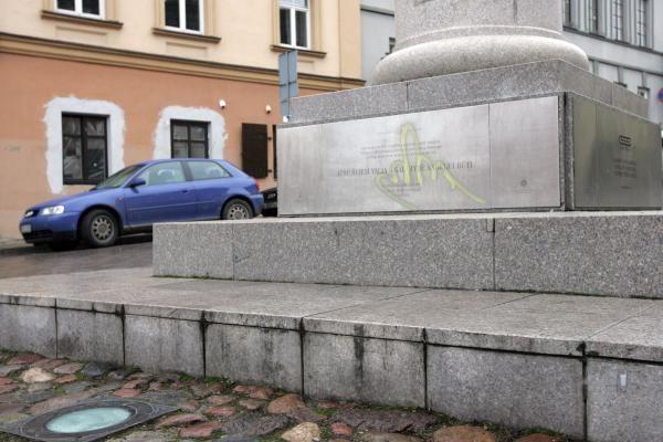 Paminklus Vilniuje išniekinęs jaunuolis kalbėjo apie pasaulinį sąmokslą