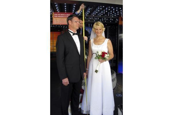 Aukščiausi pasaulyje sutuoktiniai gyvena Kalifornijoje