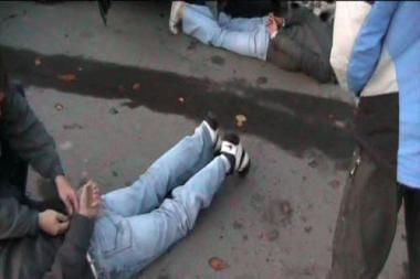 Sulaikyta ginkluota narkotikų platinimo grupė