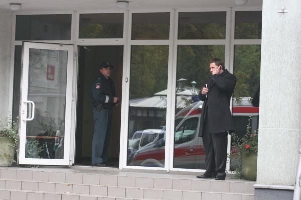Po R.Šalaševičiūtės vadovaujama įstaiga - sprogimas, yra sužeistų (papildyta)