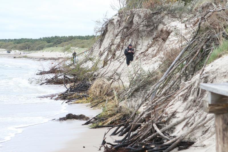 Ministerija: Baltijos jūros krantų tvirtinti nereikia