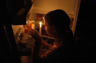 Socialinių butų nuomininkai gyvena prie žvakių
