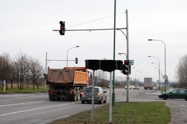 Uždarius dalį Minijos gatvės keisis eismas (schema)