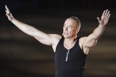 J.C.Van Damme'as patyrė širdies smūgį