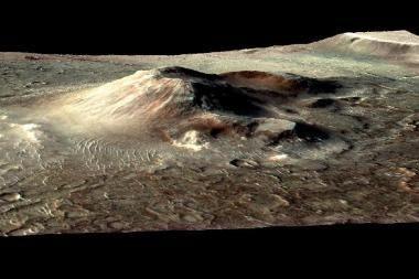 Marse egzistavusios gyvybės įrodymų gali būti ugnikalnio šlaite?