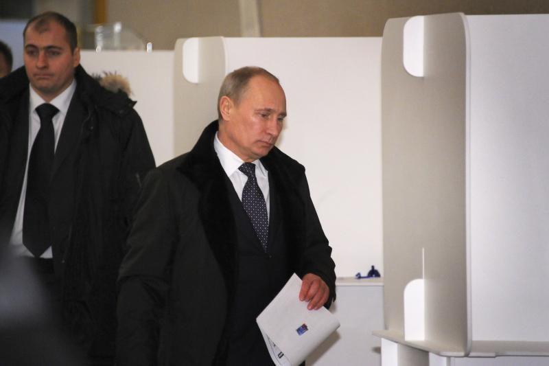 Putinas tikisi, kad rinkėjai bus aktyvesni, nei anksčiau