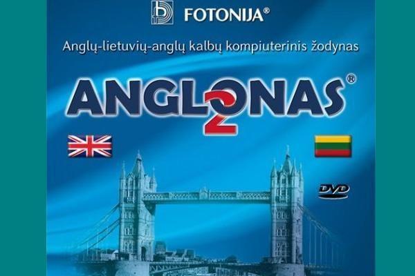 """Naujos kartos žodynas """"Anglonas 2"""""""