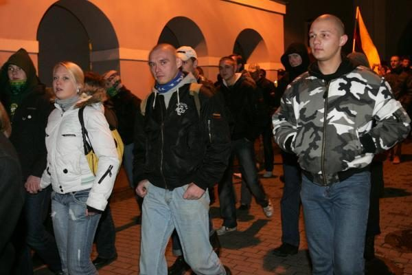 Ramiose nacionalistų eitynėse