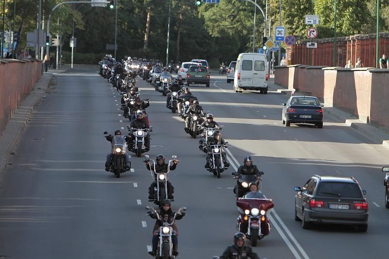 Klaipėdos motociklininkai šventė sezono pabaigtuves