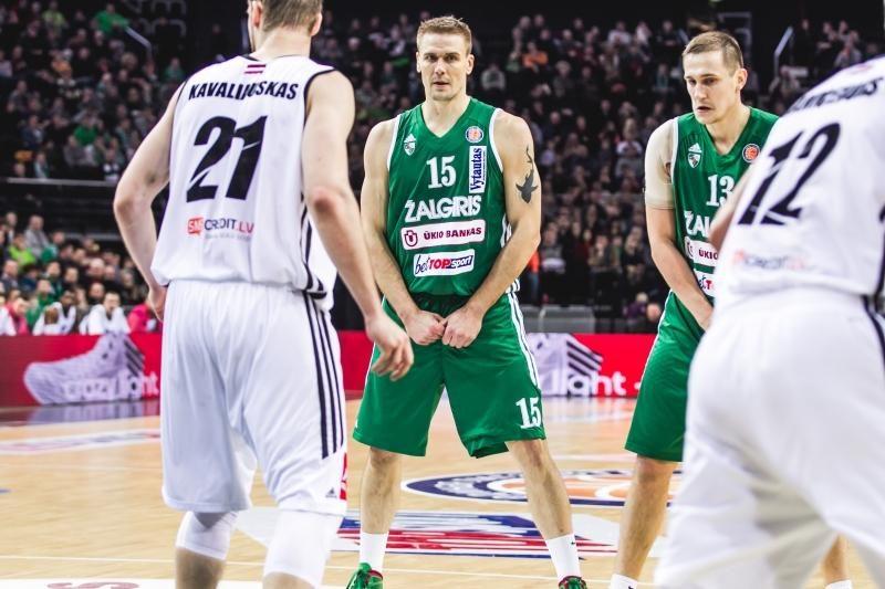 """R. Javtoko sulaukęs """"Žalgiris"""" atsirevanšavo VEF ekipai (komentarai)"""