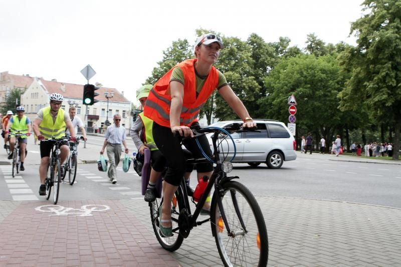 Kauno dviračių takų remontui – 120 tūkst. litų