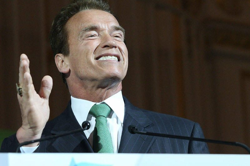 Ž.Savickas pakvies A.Schwarzeneggerį apsilankyti Vilniuje