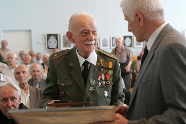 Vilniuje paminėtas savanorio, sukilimo dalyvio K.G.Ruzgio 90-metis