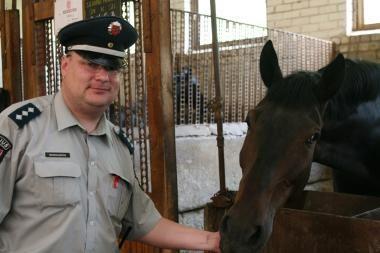 Baltarusijoje sulaikytas Vilniaus policijos pareigūnas suimamas dviem mėnesiams