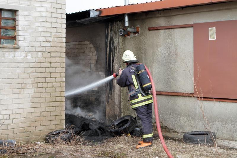 Klaipėdoje savaitgalį siautėja  gaisrai