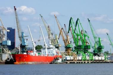 Klaipėdos uostas vienintelis Baltijos valstybėse smarkiai sumažino krovą