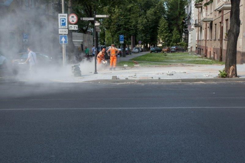 Dėl nelaimės buvo sustabdytas bet koks judėjimas Šeimyniškių gatve