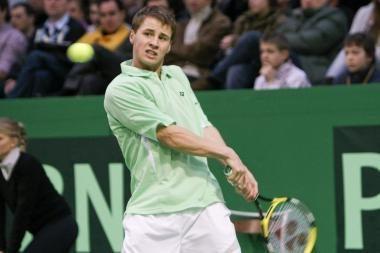 R.Berankiui vėl nepavyko įveikti Vokietijos tenisininko