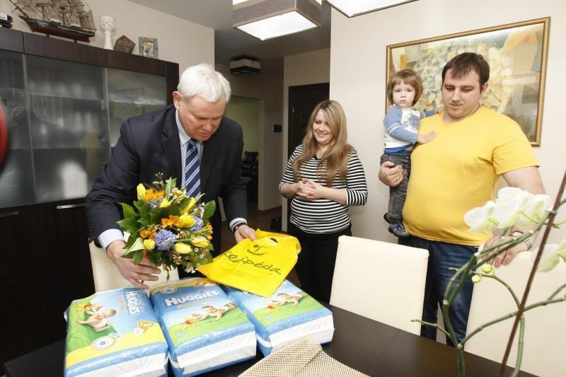 Trynukus pasveikino ir Klaipėdos miesto meras
