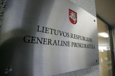 Nuo pareigų nušalintas Vilniaus prokuroras, įtariamas atėjęs į darbą neblaivus