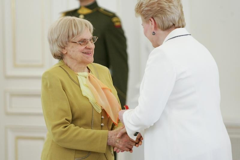 Mirė žinoma kalbininkė V.J.Vaitkevičiūtė
