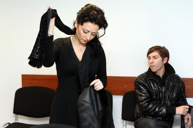 Kauno policija pareiškė padėką teisiamai I.Jurgelevičiūtei