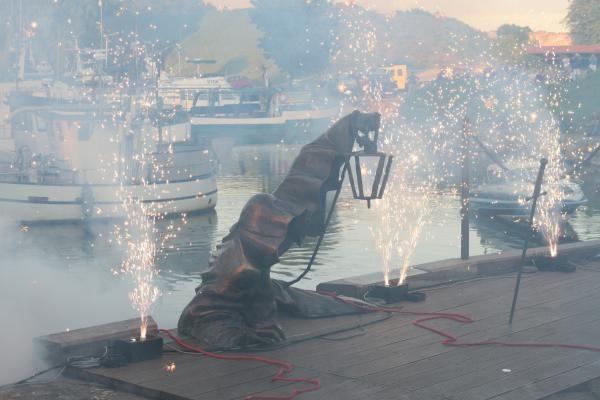 Vaiduoklio skulptūra – su staigmenomis