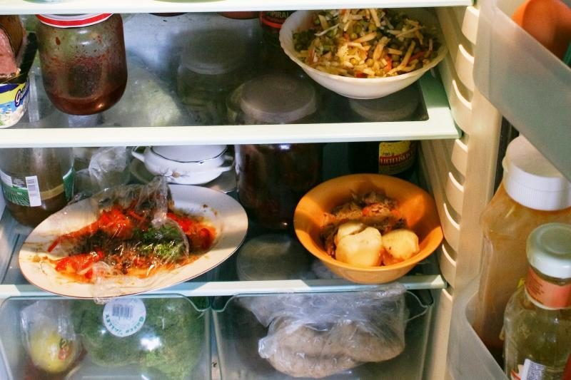 Kur šaldytuve yra daugiausia bakterijų?