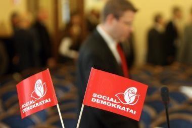 Populiariausios partijos - opoziciniai socialdemokratai ir