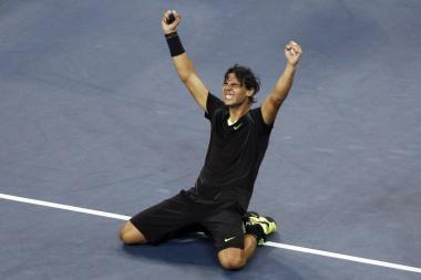 R.Nadaliui pirmą kartą pavyko laimėti atvirąsias JAV pirmenybes