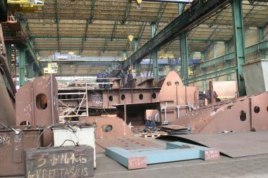 """""""Baltija"""" vėl statys laivus"""