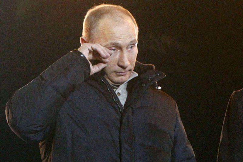 Vladimiras Putinas sugrįžta į Kremlių šešeriems metams