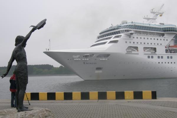 Pradėtas kruizinių laivų sezonas