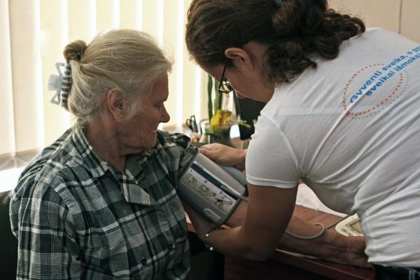 Prie nemokamos sveikatos patikros – klaipėdiečių eilės