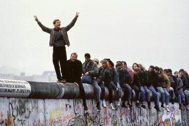 Palangoje bus prisiminta Berlyno sienos griūtis