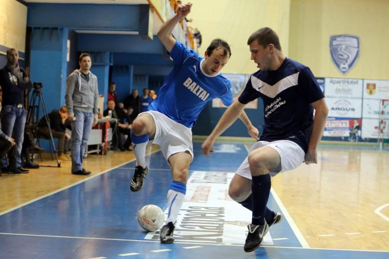Klaipėdos salės futbolo čempionė – KU komanda