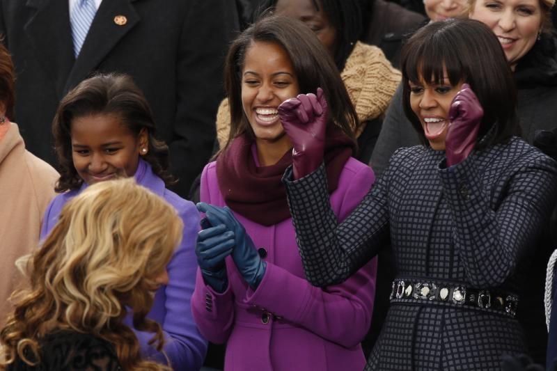 B. Obamos inauguracijoje Beyonce spindėjo išlaikyta elegancija