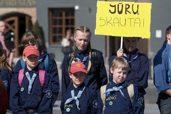 Skautų Jurginės Vilniuje