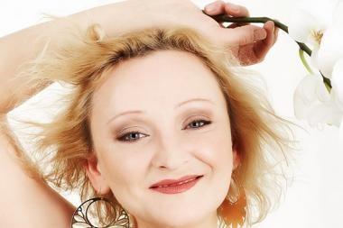 Aktorei I.Norkutei teko vėl radikaliai keisti plaukų spalvą