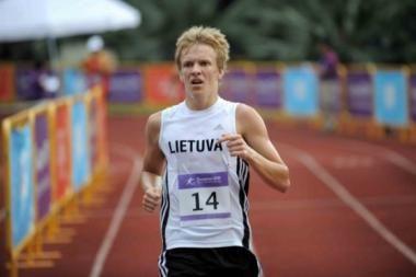 Penkiakovininkui L.Kontrimavičiui - jaunimo olimpinių žaidynių bronza