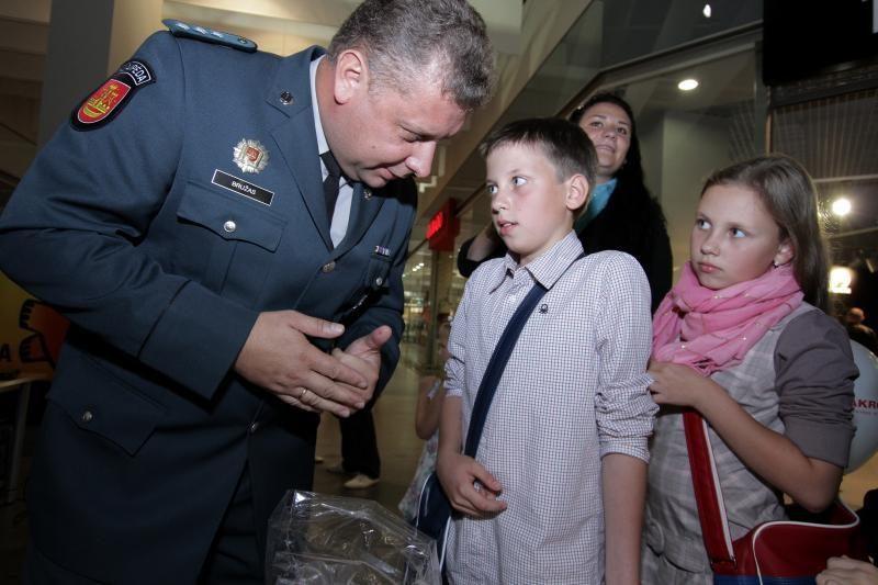 Uostamiesčio moksleiviams – policijos šventė