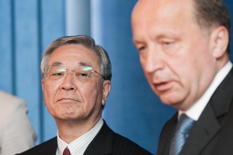 """Lietuva ir """"Hitachi"""" ketina parafuoti Koncesijos sutartį"""