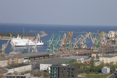 Tarp Baltijos valstybių Klaipėdos uostas - ketvirtas