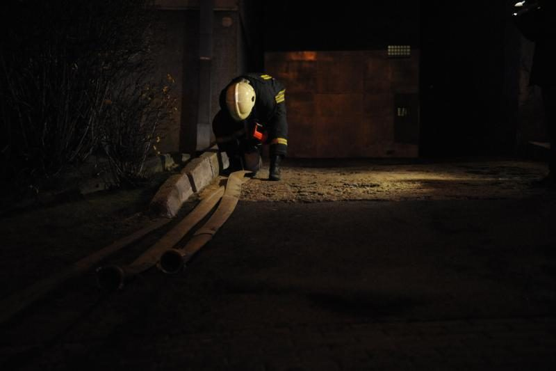 Vilniuje degė kalėjimo gamybinės patalpos