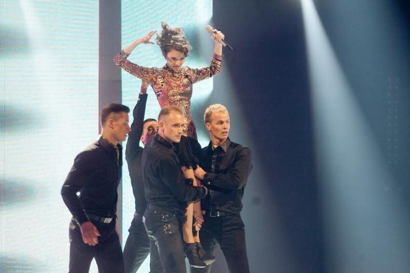 """Į """"Eurovizijos"""" atrankos finalą užtikrintai žengė D.Montvydas"""