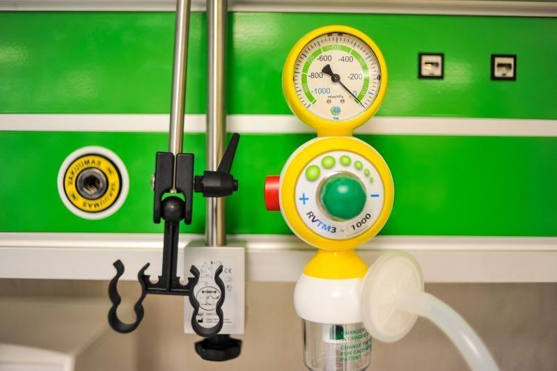 Kauno klinikose gyvybes gelbės aparatūra už ES lėšas
